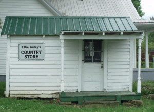 Elfie Autry's Country Store was originally located on Clay Street.  Check out what would have been sold here.