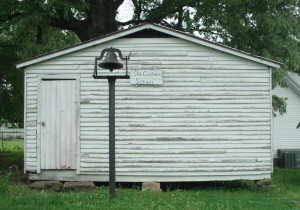 See what a one room school was like at the Goshen School House.