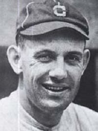Ray Chapman, shortstop for the Cleveland Indians.