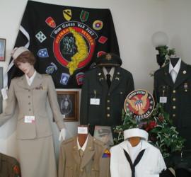 Exhibit at the Veterans Museum.