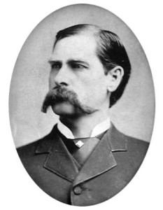 Wyatt Earp, involved in the shoot out at the OK Corral.