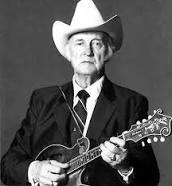 Bill Monroe, Father of Bluegrass Music.
